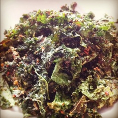 kale in chips