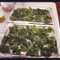 kale tray