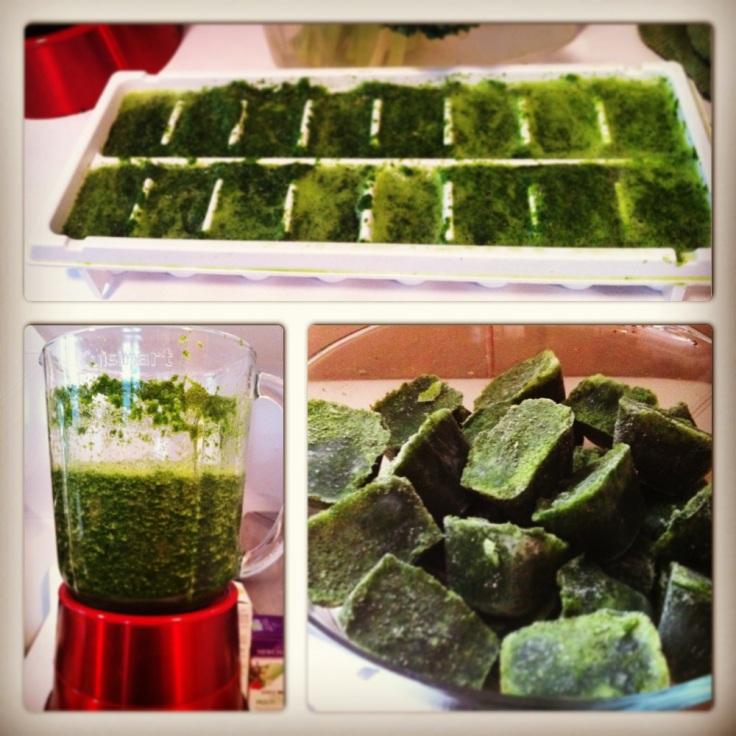 Kale-cubes